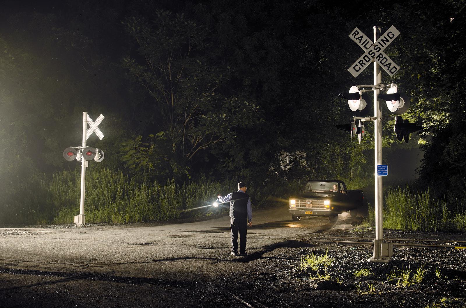 Summer   Trains at Night